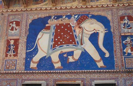 © M.J. Gressieux Haveli de Nadine Leprince (Fathepur, Rajasthan) http.//www.cultural-centre.com