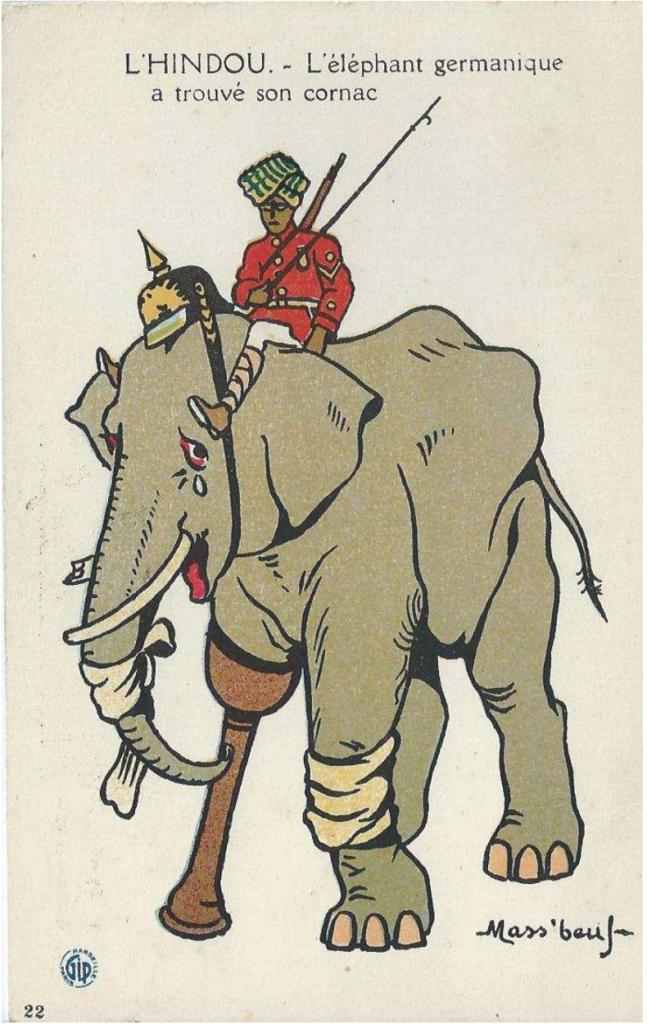 L'éléphant germanique